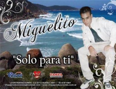 Miguelito - Solo Para Ti [Nuevo Mayo 2011]   Cumbia