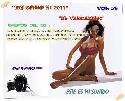 Dj Gabo - El Verdadero Dj Vol. 4 | Cumbia
