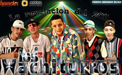 Los Wachiturros - Tirate Un Paso [Nuevo Mayo 2011] HAMSTER RECORDS | Cumbia