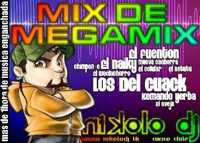 Mix De Megamix - Cumbia Villera (NkL Dj) | Cumbia