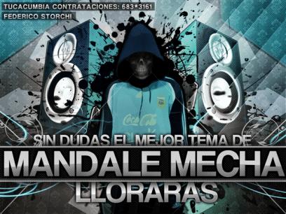 Mandale Mecha - Lloraras [Nuevo Julio 2011] | Cumbia