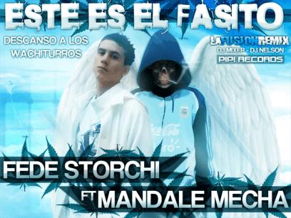 Mandale Mecha Ft. Fede Storchi - Este Es El Fasito [Nuevo Julio 2011] | Cumbia