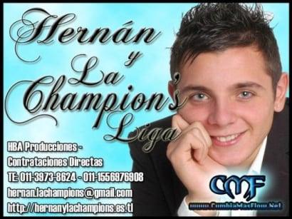 Hernan y La Champion's Liga - Me Voy Muy Lejos [Nuevo Mayo 2011] | Cumbia