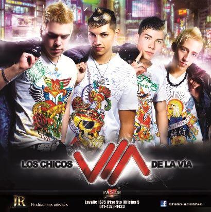 Los Chicos De La Via - CD Difusion Junio 2011 (x7) | Cumbia