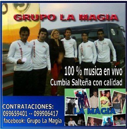 Grupo La Magia - Difusion 2010 (x2)   Cumbia