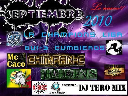 Dj Tero Mix - Lo Nuevo Septiembre 2010 | General
