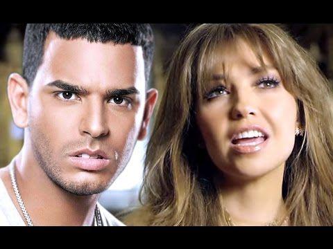 Thalía y Tito El Bambino