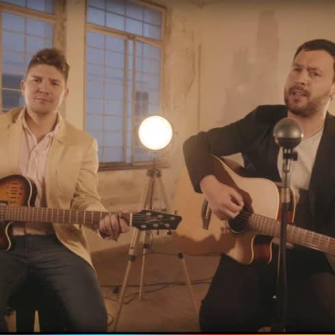 Martín Piña y Lucas Sugo