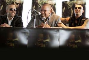 Wisin & Yandel Ft. Franco 'El Gorila' - Te Siento (Official Remix) (Original)   Reggaeton