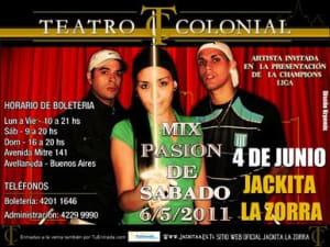 Jackita La Zorra - Mix Pasion De Sabado 2011   Cumbia