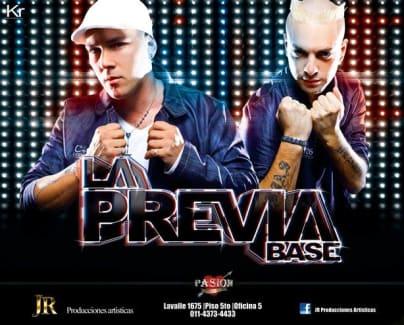 La Previa Base - Difusion 2011 (x8)   Cumbia