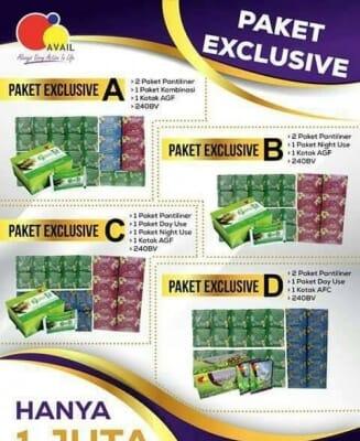 Paket Exclusive 1 Juta!