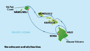 Kryssning Hawaii