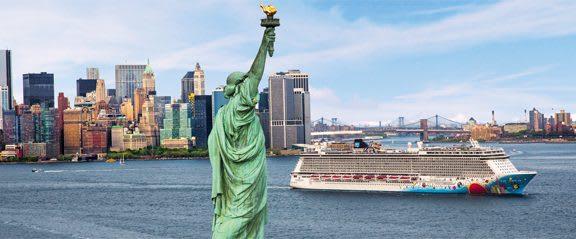 New York och Bahamaskryssning