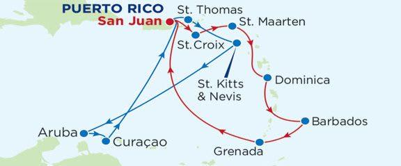 Kryssning Puerto Rico