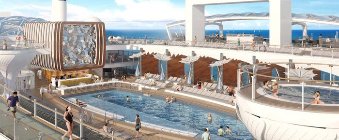 Pool on Celebrity Edge