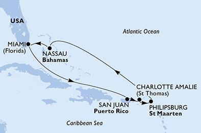 Kryssning Karibien