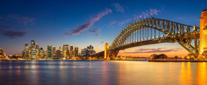 Besök Sydneys Operahus och Harbour Bridge