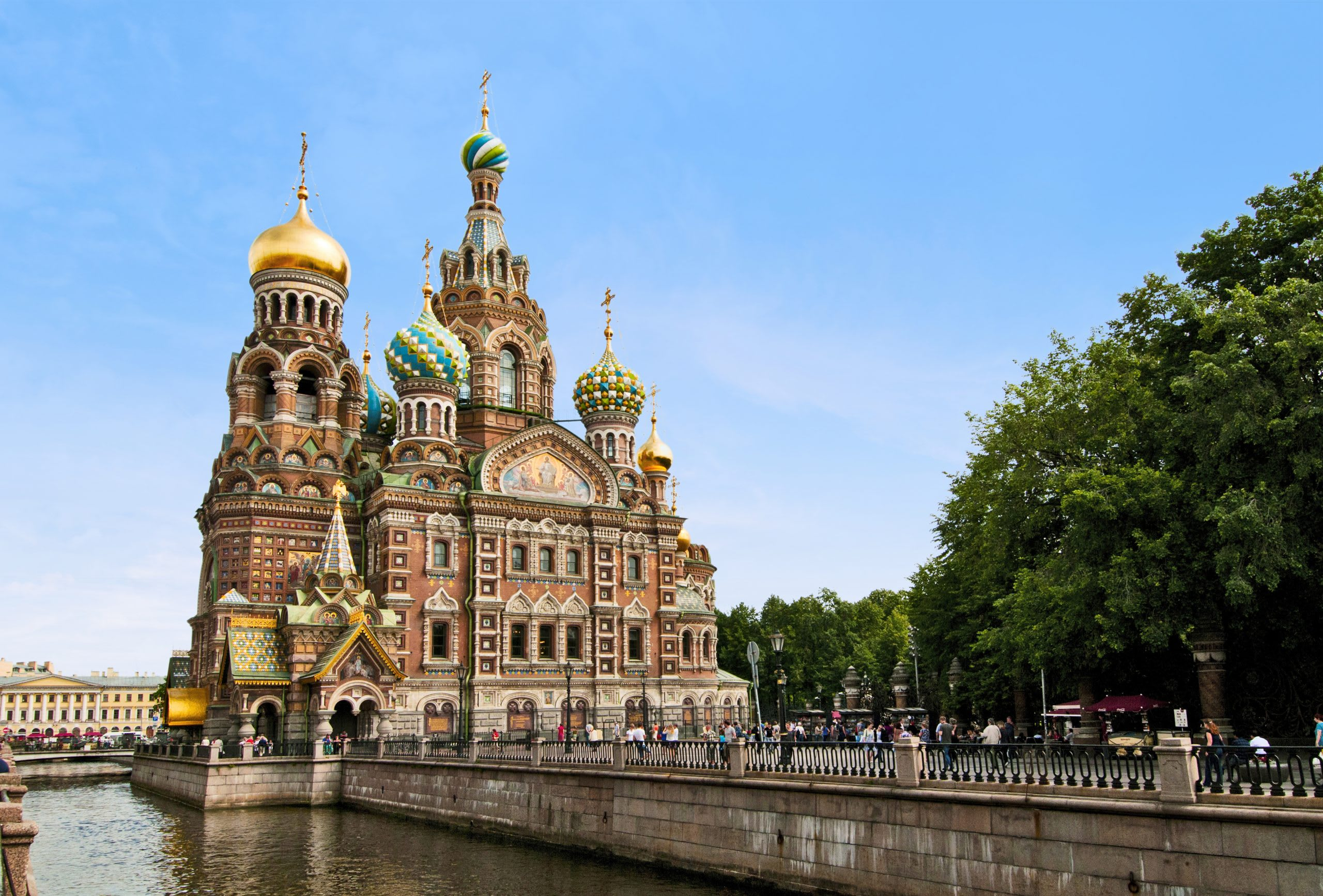 St. Petersburg - Church of our Saviour on Spilled Blood