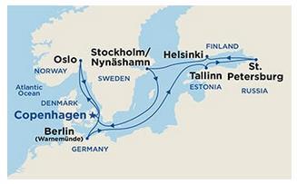 Kryssning till st petersburg från stockholm
