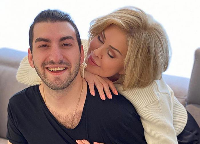Любовь Успенская опять намекнула на роман с молодым певцом