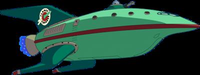 Planet Express Ship from Futurama