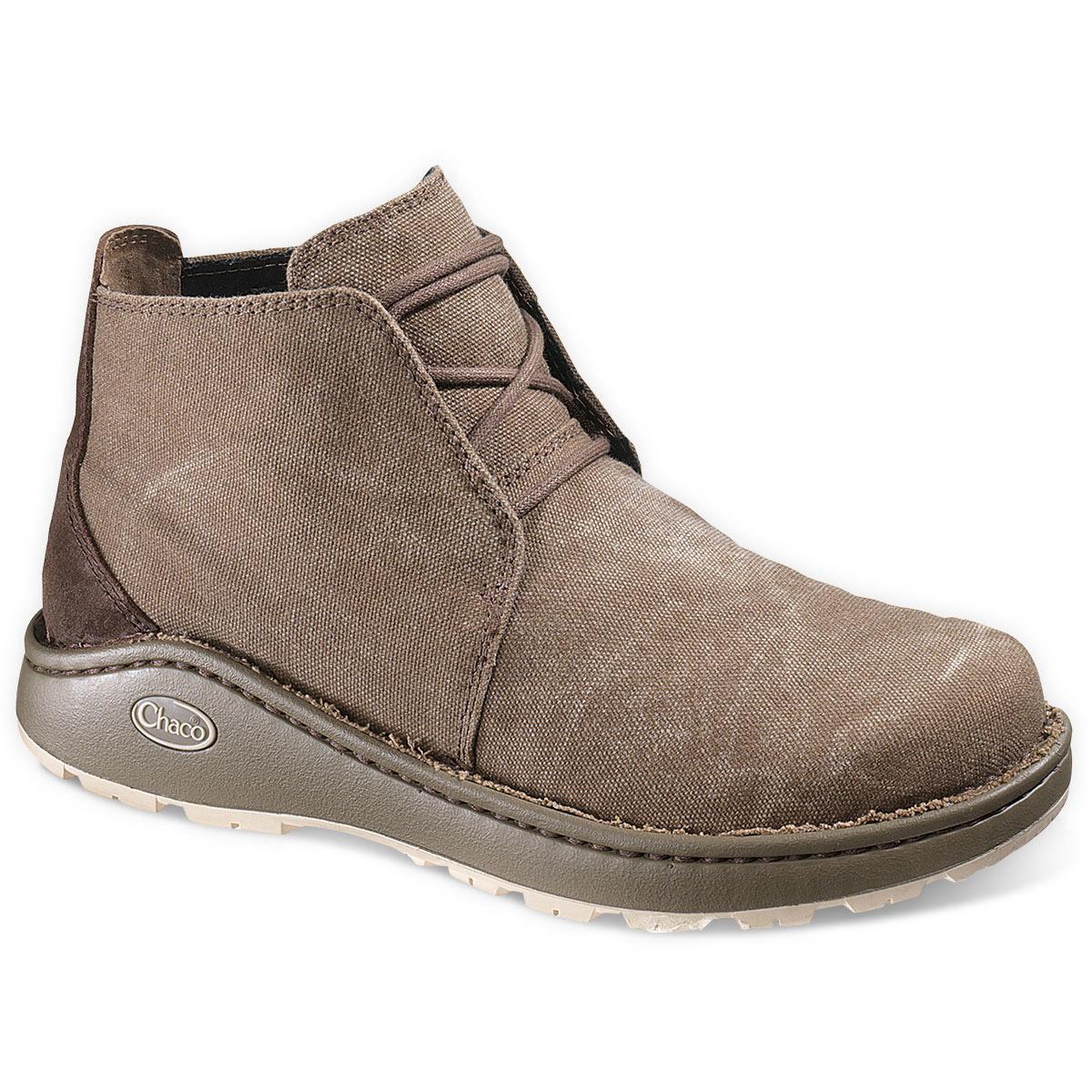 CHACO Men's Otis Canvas Shoes, Shitake