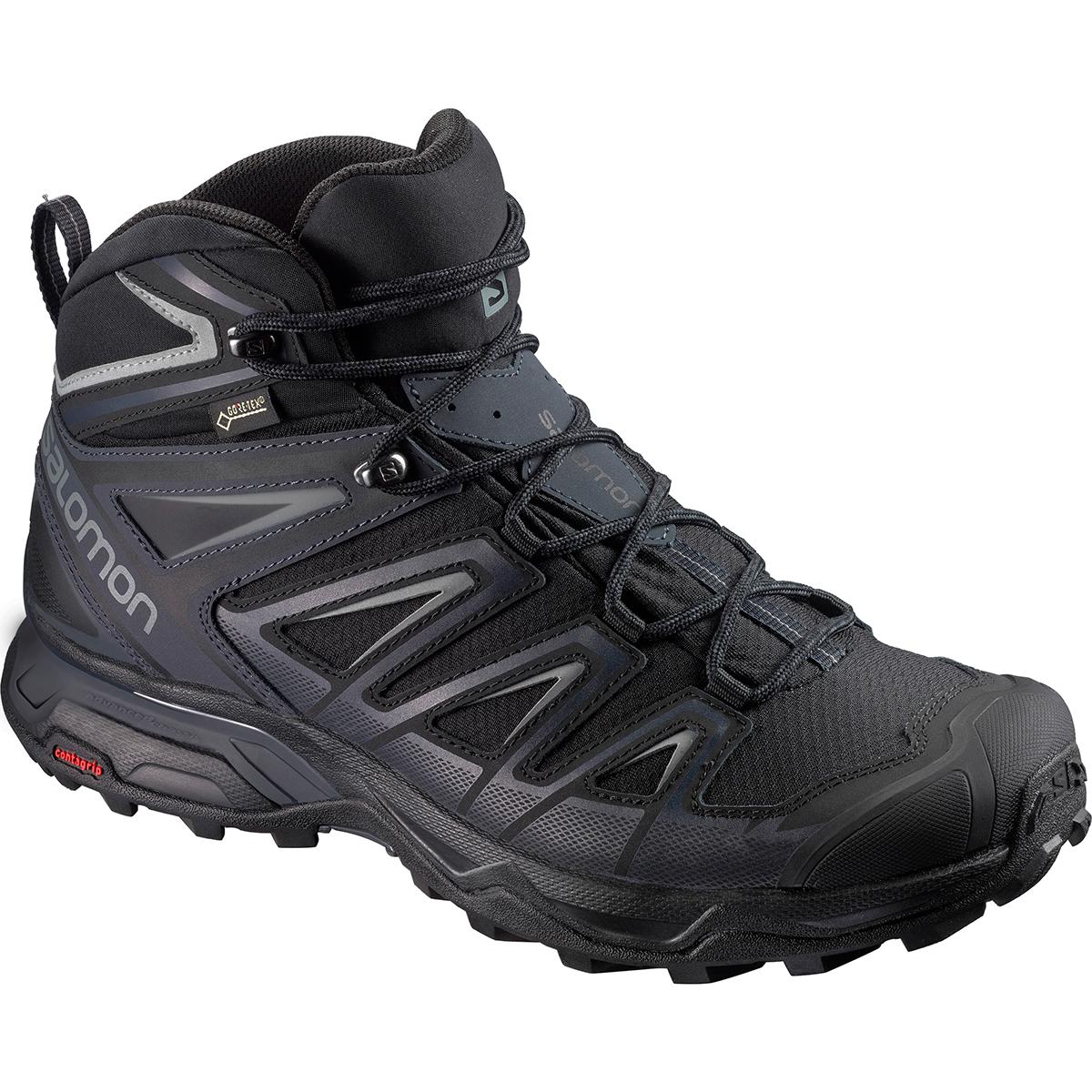 black waterproof hiking shoes