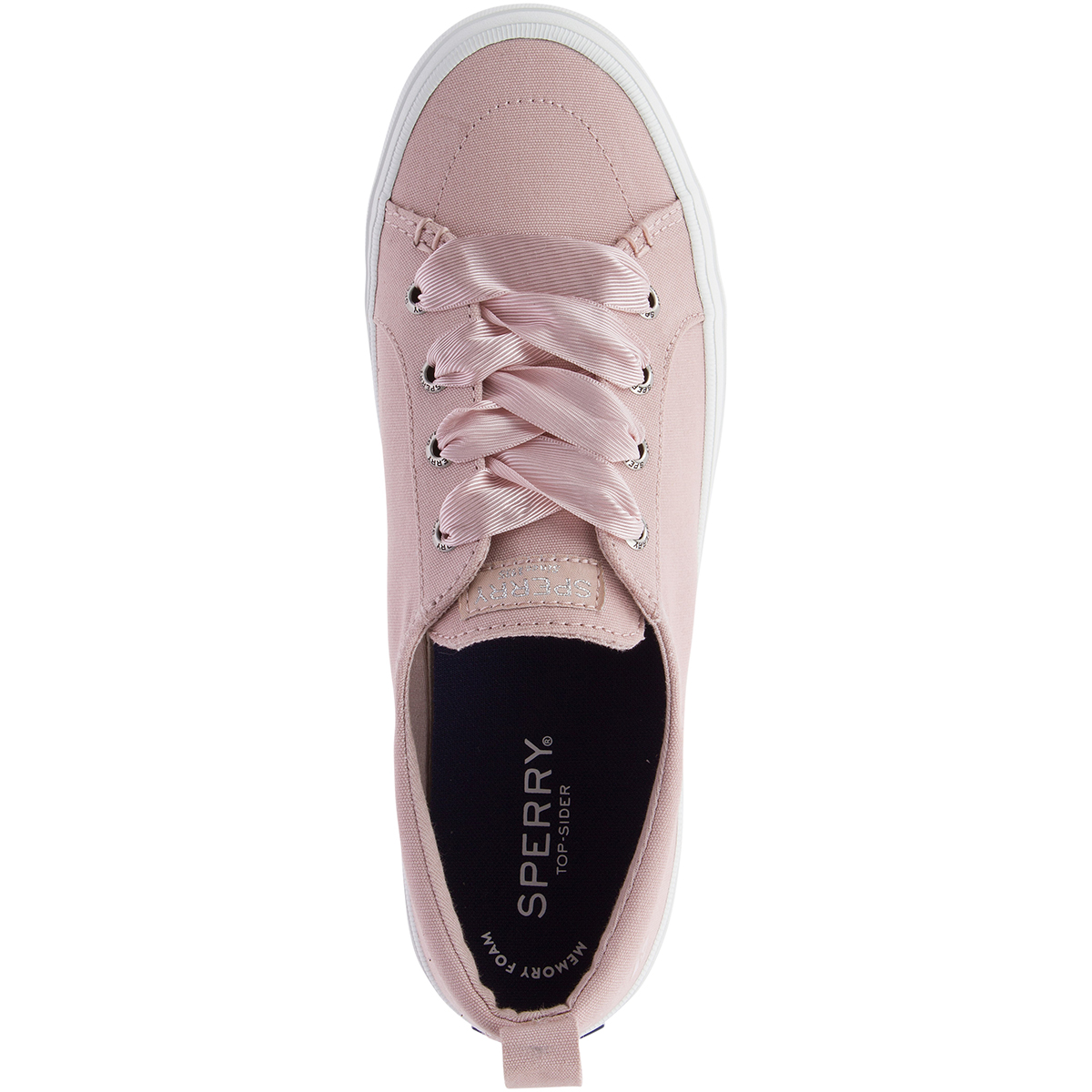 Crest Vibe Satin Lace Sneakers