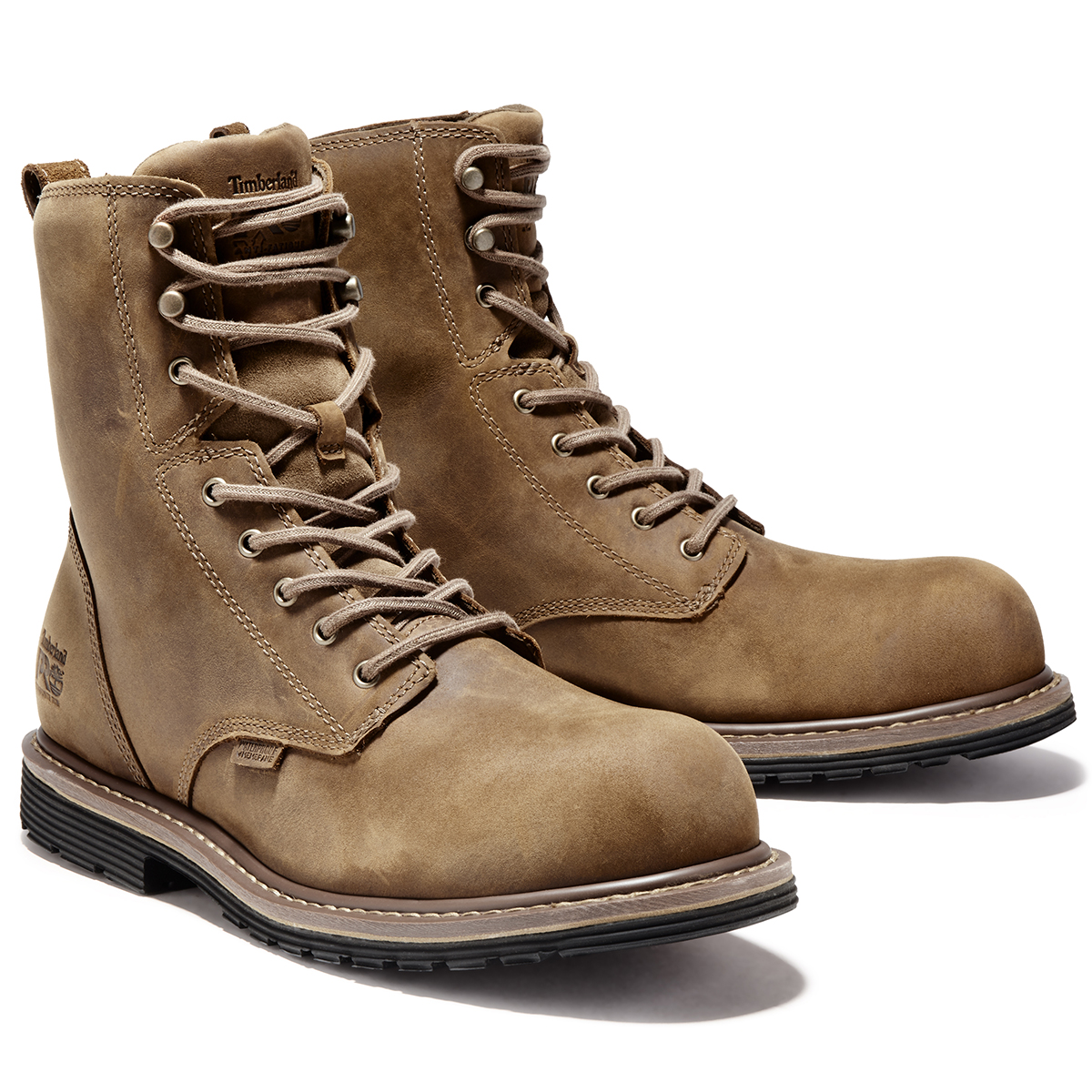 Timberland Pro Men S Millworks 8 Waterproof Composite Toe Work Boot Eastern Mountain Sports