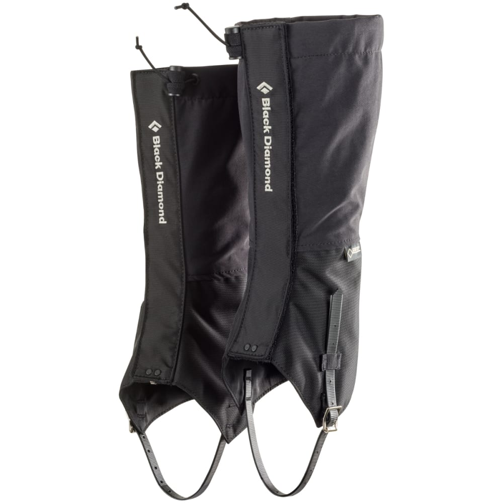 BLACK DIAMOND FrontPoint Gaiters, Black - BLACK