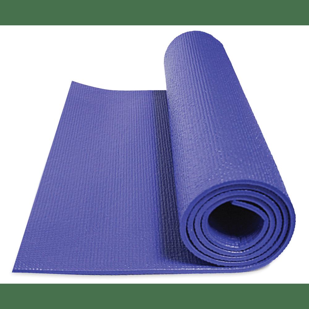 GOFIT Double Thick Yoga Mat - SAPPHIRE BLUE