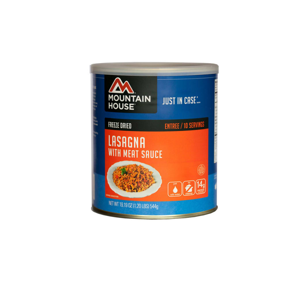 MOUNTAIN HOUSE Lasagna w/Meat Sauce #10 Can - NONE