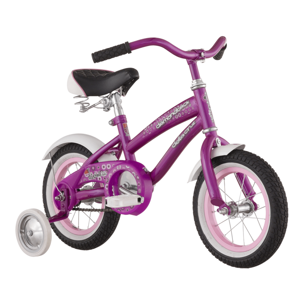 Diamondback Girls' Lil Della Cruz 12 in. Cruiser - NONE