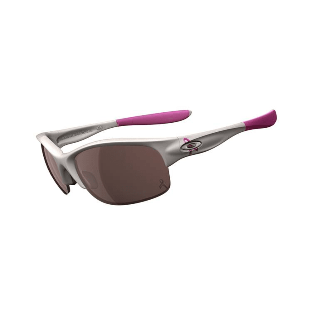 Oakley Women's Commit Sunglasses - WHITE/BLACK IRIDIUM
