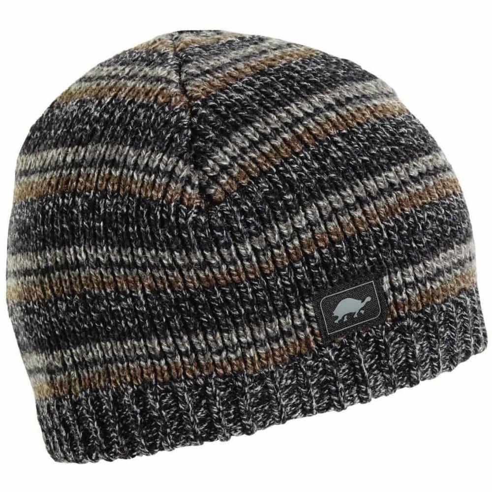 TURTLE FUR Men's Schroeder Ragg Wool Beanie - CHARCOAL - 429