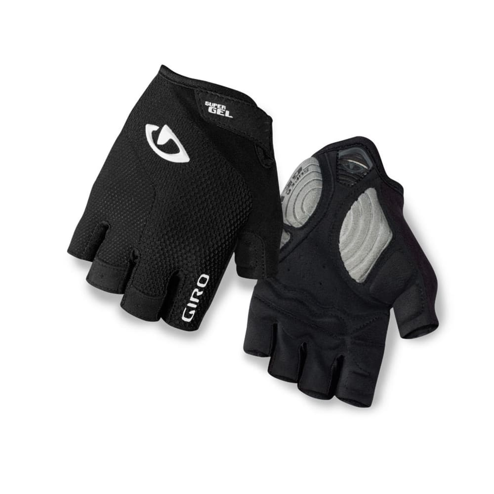 Giro Strade Masse Super Gel Womens Cycling Glove - WHITE/BLACK