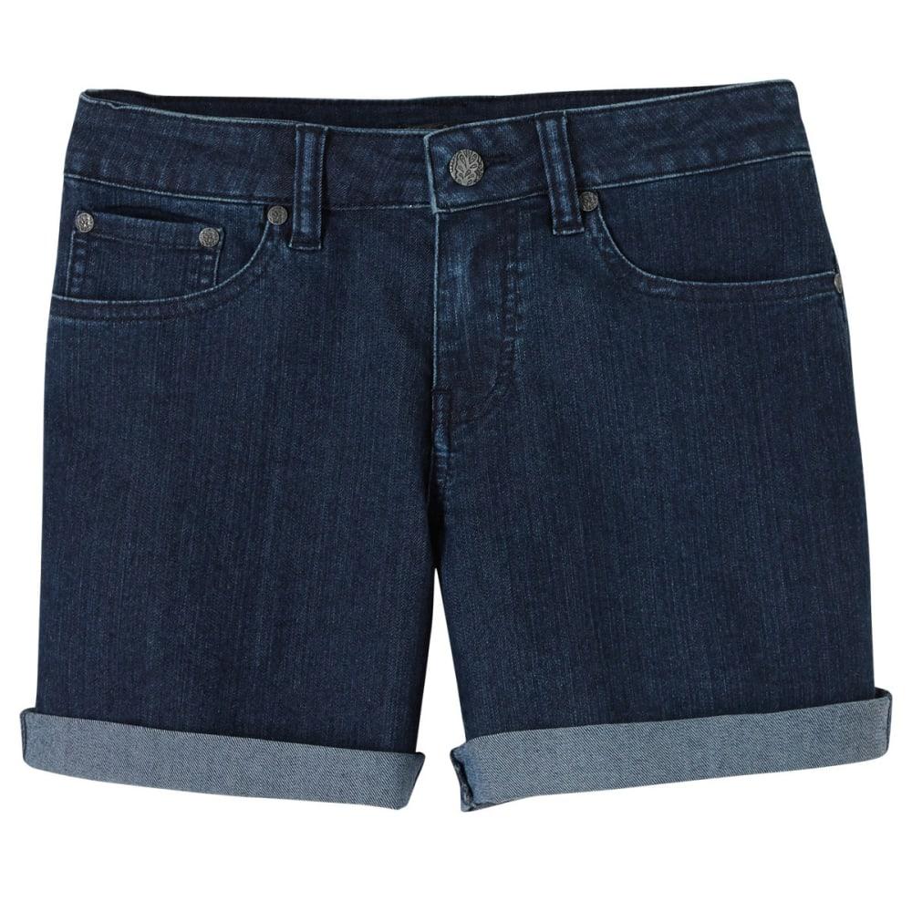 PRANA Women's Kara Denim Shorts - IND-INDIGO