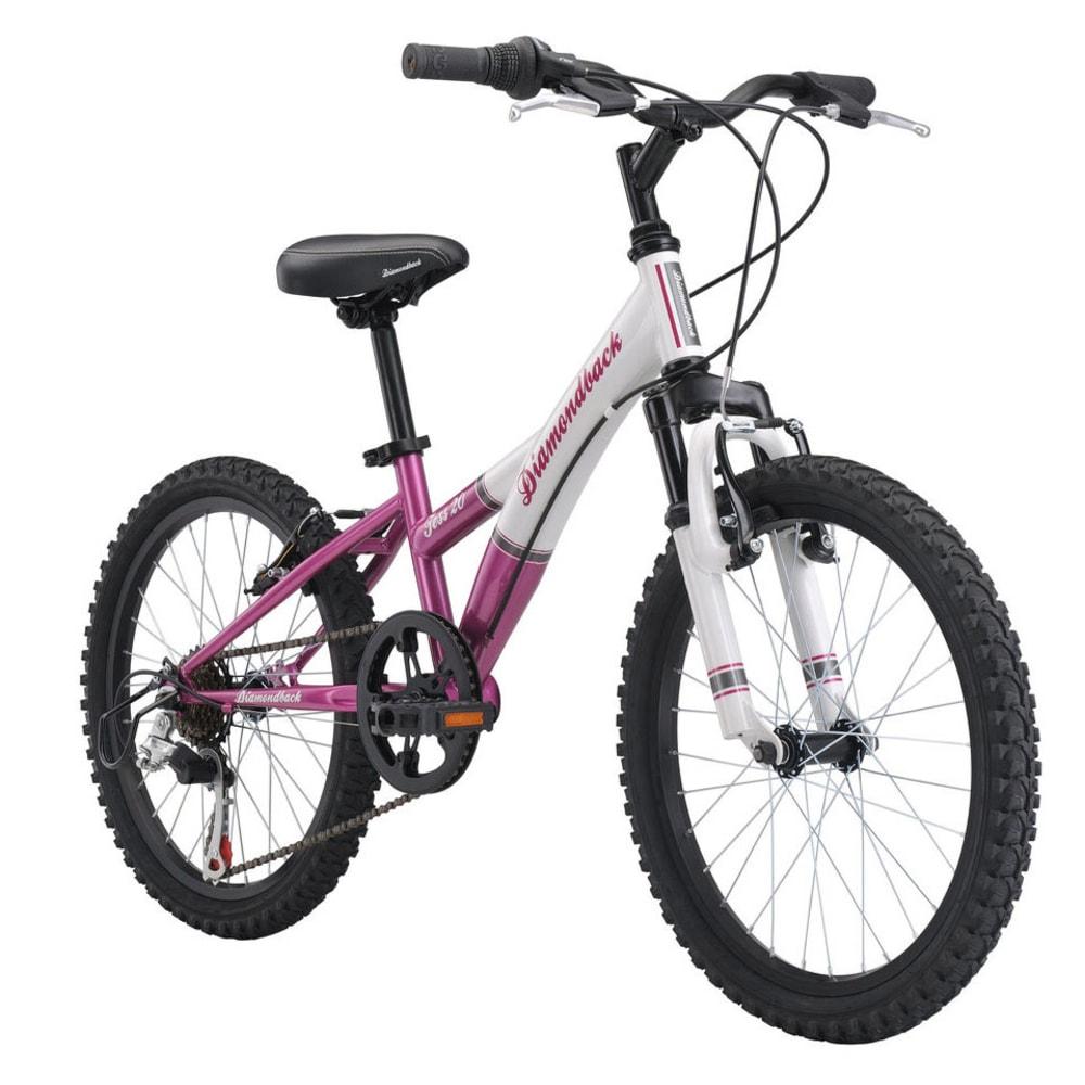 DIAMONDBACK Girls' Tess 20 Mountain Bike - NONE