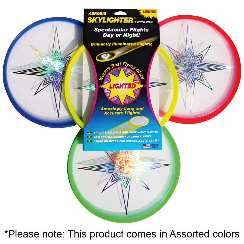 AEROBIE 12 in. Skylighter Flying Disc - ASSORTED