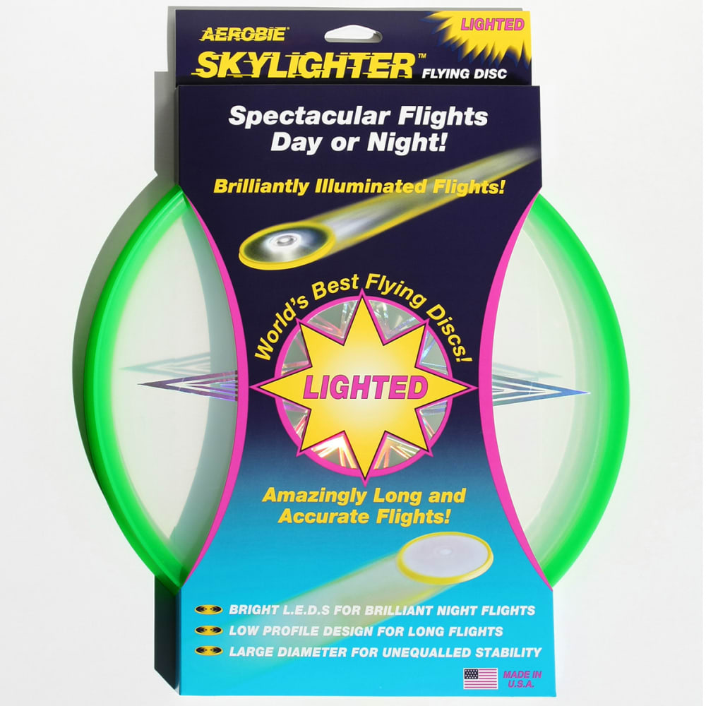 AEROBIE 12 in. Skylighter Flying Disc - GREEN