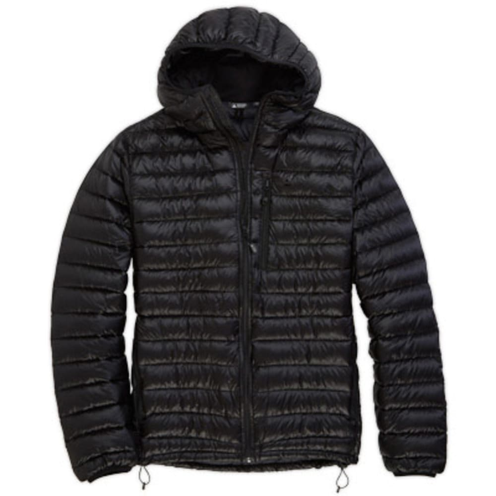 EMS Womens Icarus Hooded Down Jacket - BLACK