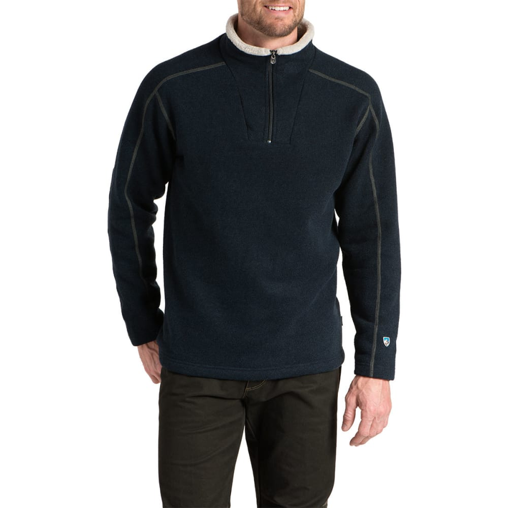 KUHL Men's Europa 1/4 Zip Sweater - MBL-MUTINY BLUE