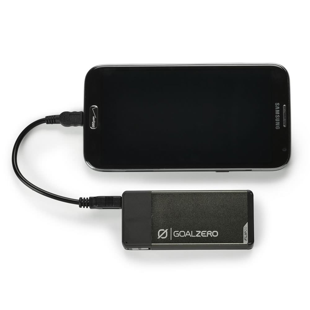 Goal Zero Flip 20 Recharger - CHARCOAL GREY/21907