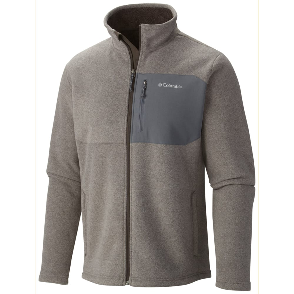 COLUMBIA Men's Teton Peak Jacket - 031-CHARCOAL HEATHER