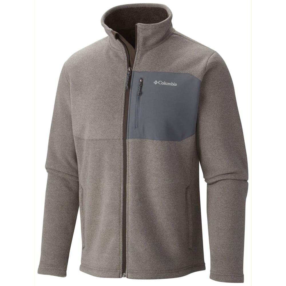 COLUMBIA Men's Teton Peak Jacket - 031-CHARCOAL HEATHER