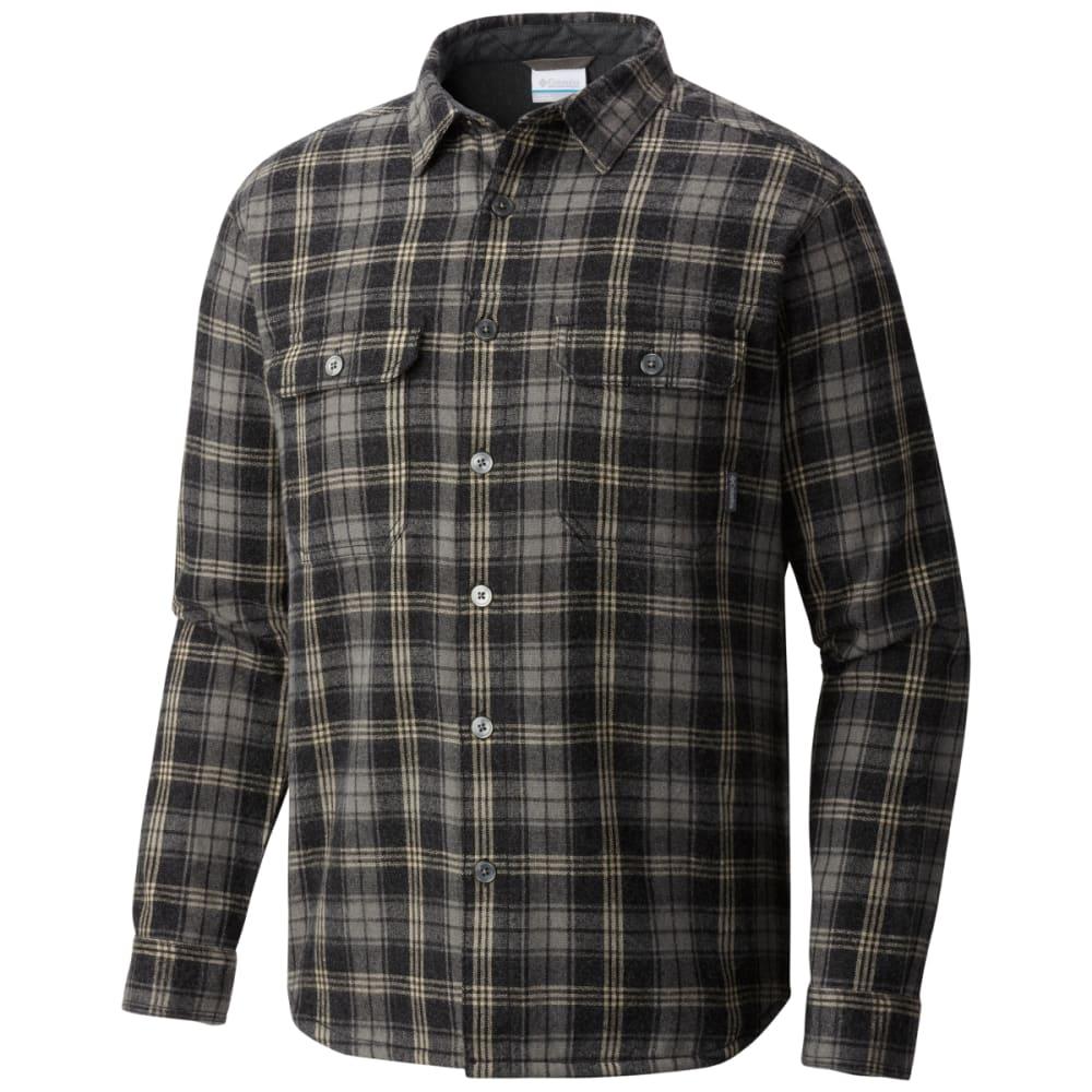 COLUMBIA Men's Windward III Over-Shirt - BLK PLD-014
