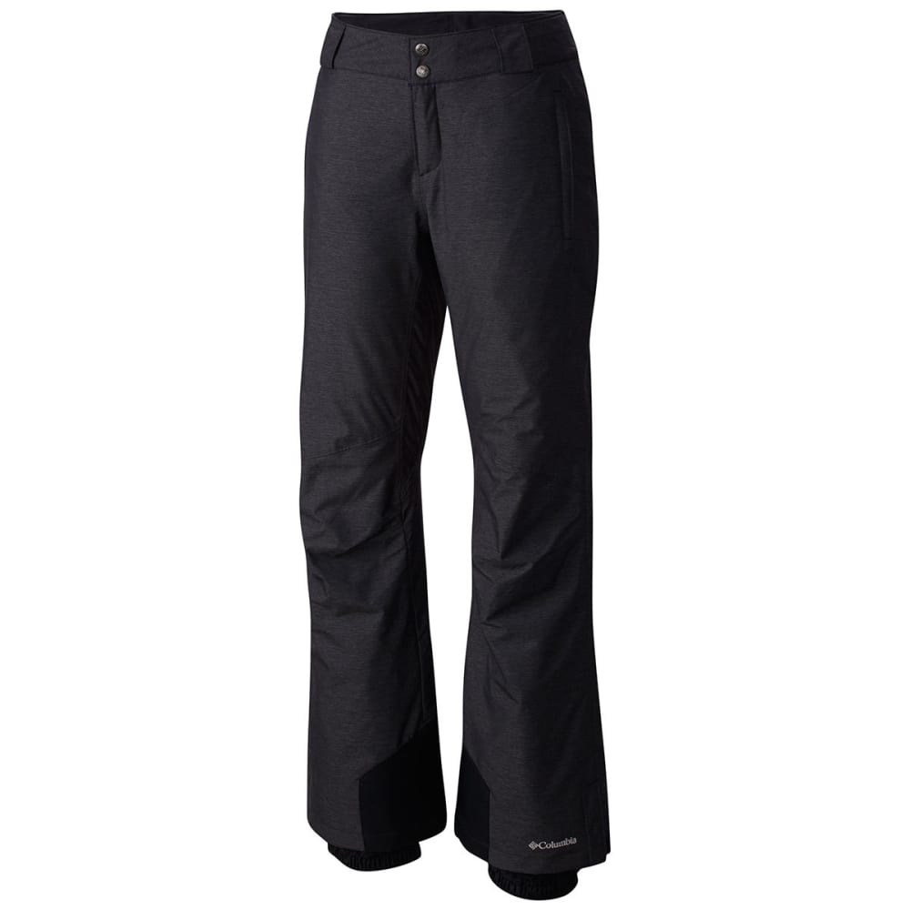 COLUMBIA Women's Bugaboo Omni-Heat Ski Pants - 011-BLACK CROSSDYE