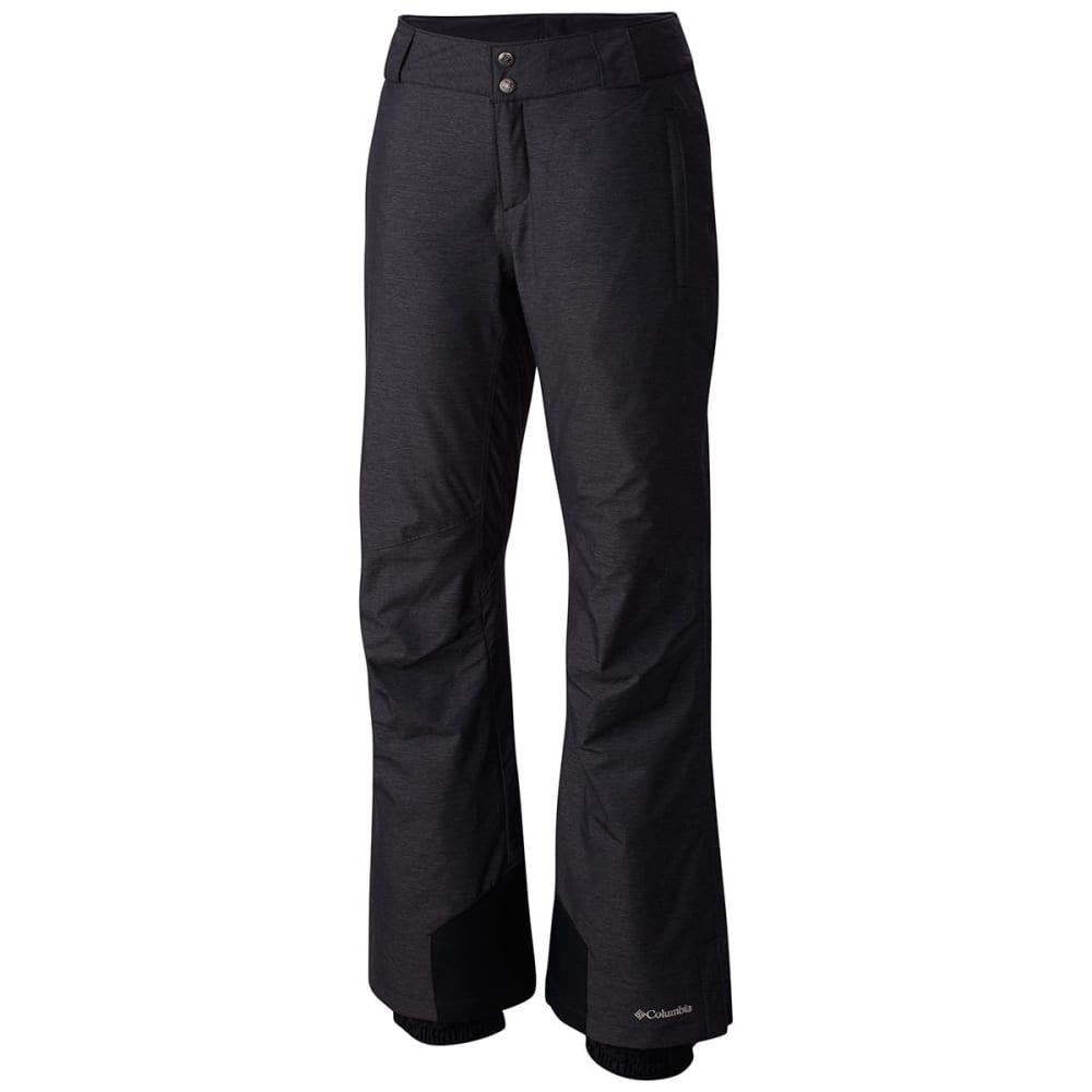 COLUMBIA Women's Bugaboo Omni-Heat Ski Pants - 011-BLACK CROSSDYE