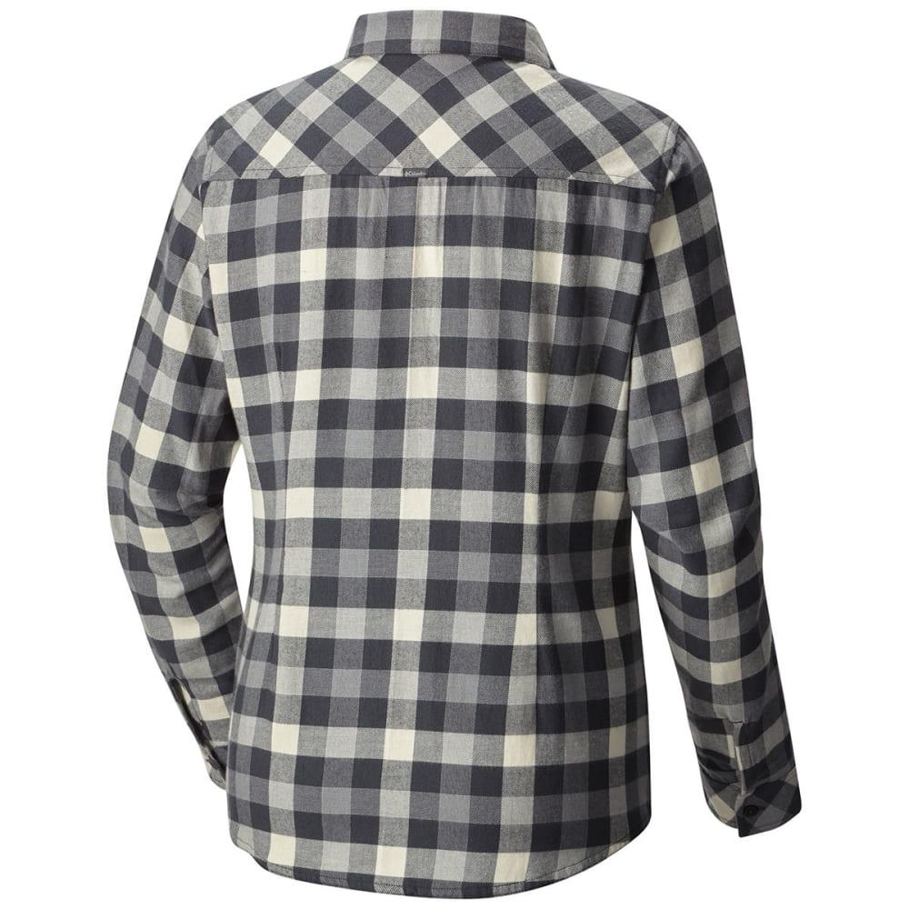 COLUMBIA Women's Simply Put II Flannel Shirt - 014-SHARK CHECK